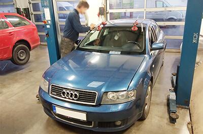 výměna autoskla Audi A4