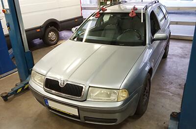 výměna autoskla Škoda Octavia